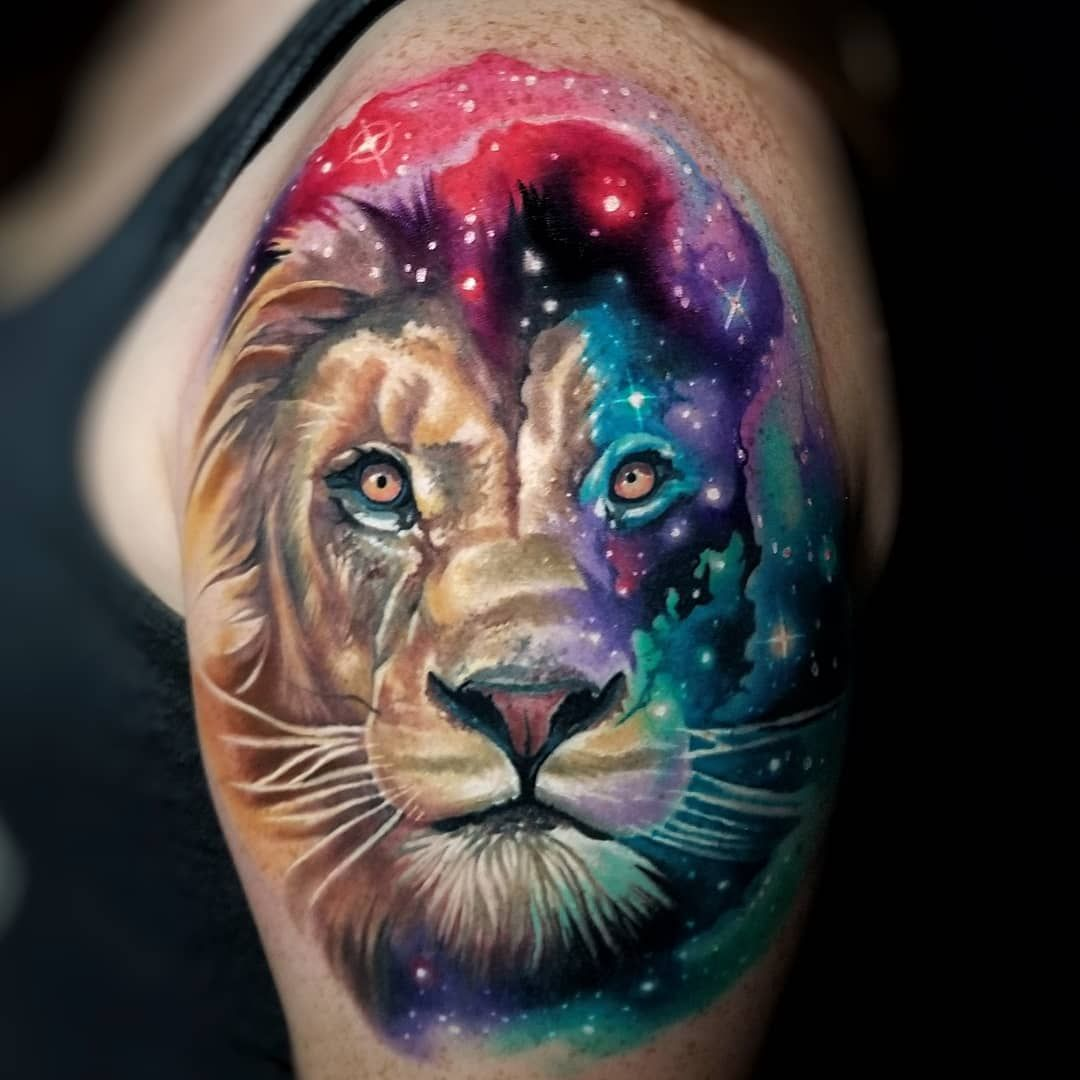 Lion By Tyler Malek Tattoo Watercolor Tattoo Sleeve Animal Tattoos Lion Tattoo