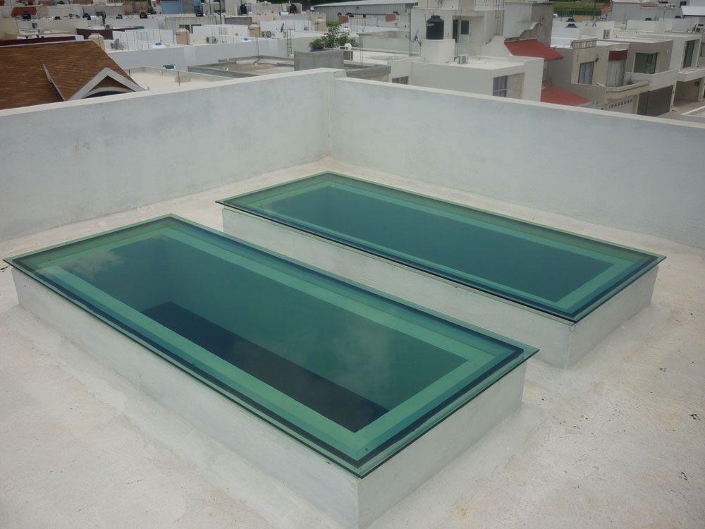 Tragaluz para casa cuarto pinterest claraboyas for Claraboyas para techos