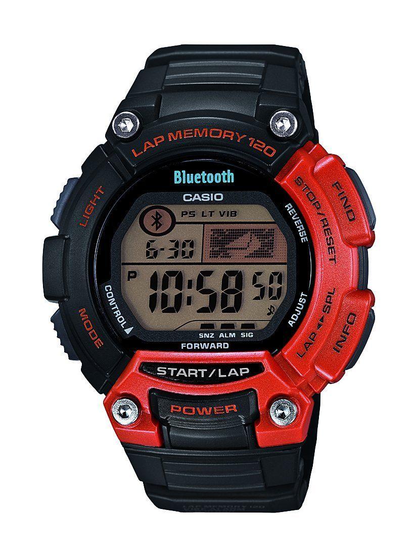 Casio STB10004EF Bluetooth Sports Unisex Quartz Watch