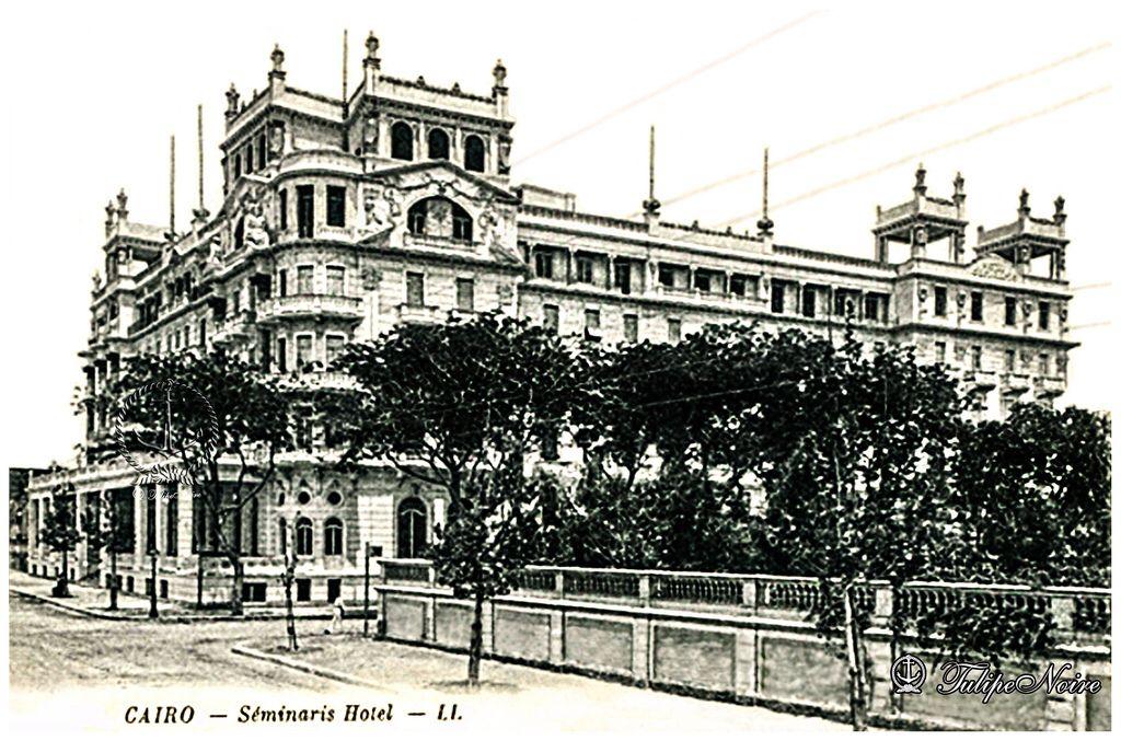 Semiramis Hotel Cairo In 1909 Cairo Egypt Cairo Egypt History