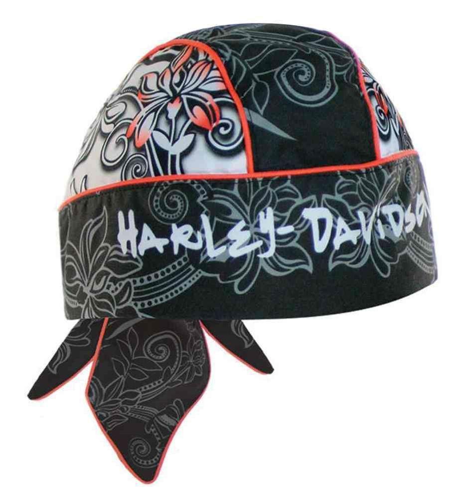 HarleyDavidson Women's Headwrap, Beautiful Hibiscus