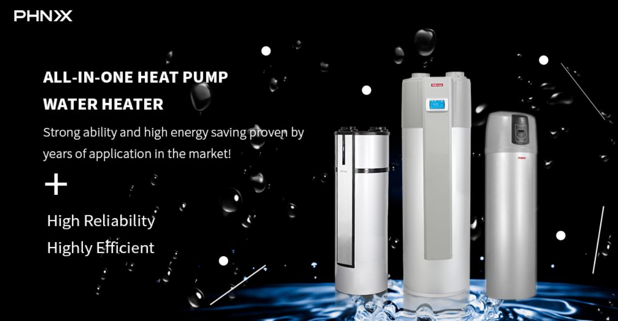 High reliability! Allinone heat pump water heater is
