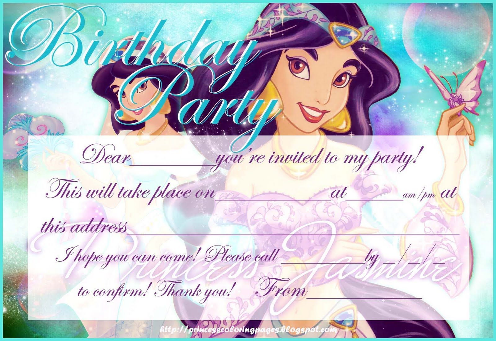 Hundreds of free, printable princess coloring pages, princess party ...