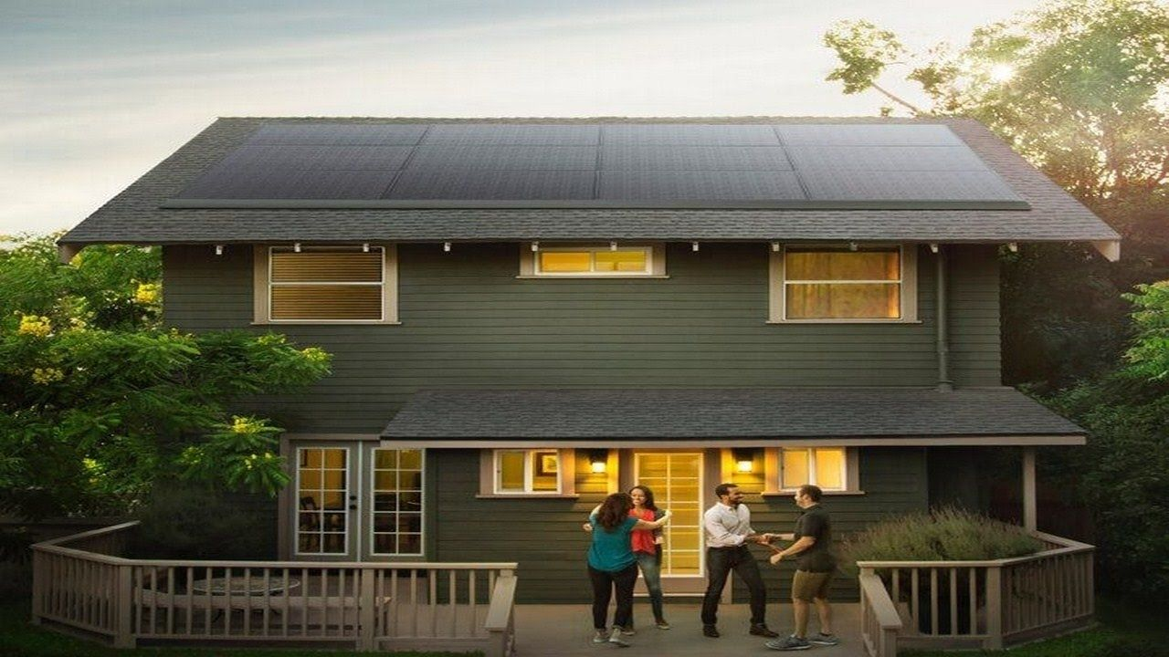 Tesla solar roofs these beautiful solar panels that show