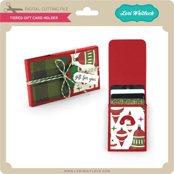 Tiered Gift Card Holder Lori Whitlock Products Pinterest Gifts