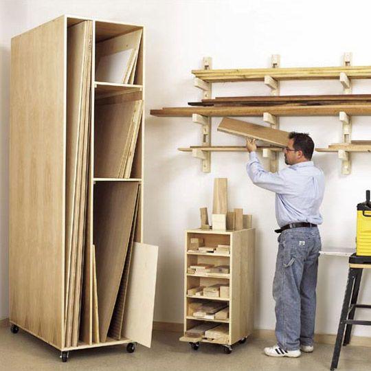 Plywood Garage Cabinet Plans: Wood Storage Racks Plans - Bing Images