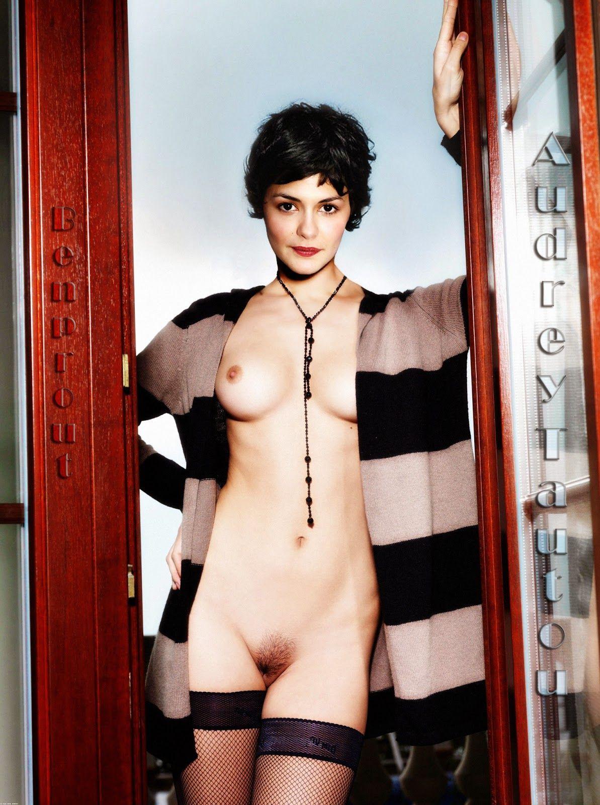 fake nude tautou Audrey