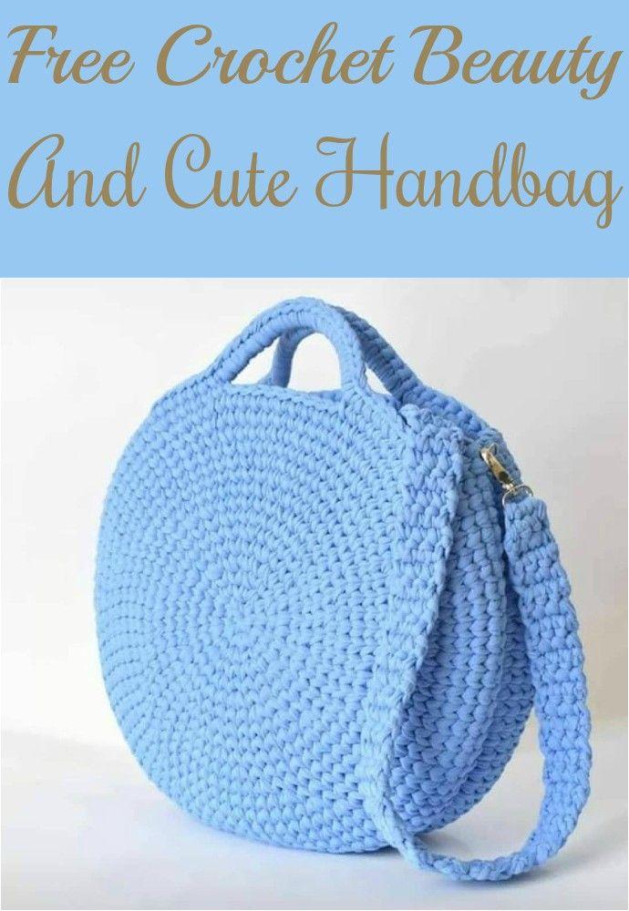 Nuevas bolsas de ganchillo, bolsas de playa y bolsos de mano gratis • Decoración para el hogar de bricolaje