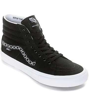 31ca3ba7deb Vans x Sketchy Tank Sk8-Hi Pro Skate Shoes