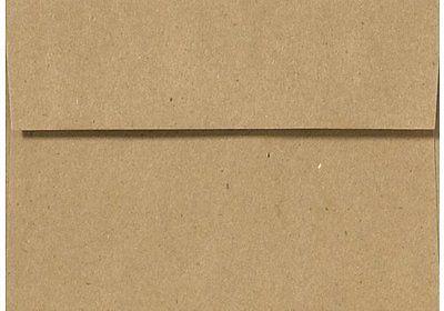 paper and envelopes 3123 a7 grocer kraft invitation envelopes