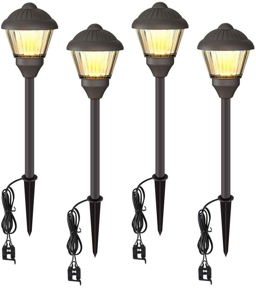 Volisun Low Voltage Landscape Lights Electric 12v Waterproof Outdoor Lights Warm White Led Yard Light Deco Outdoor Lighting Outdoor Chandelier Pathway Lighting