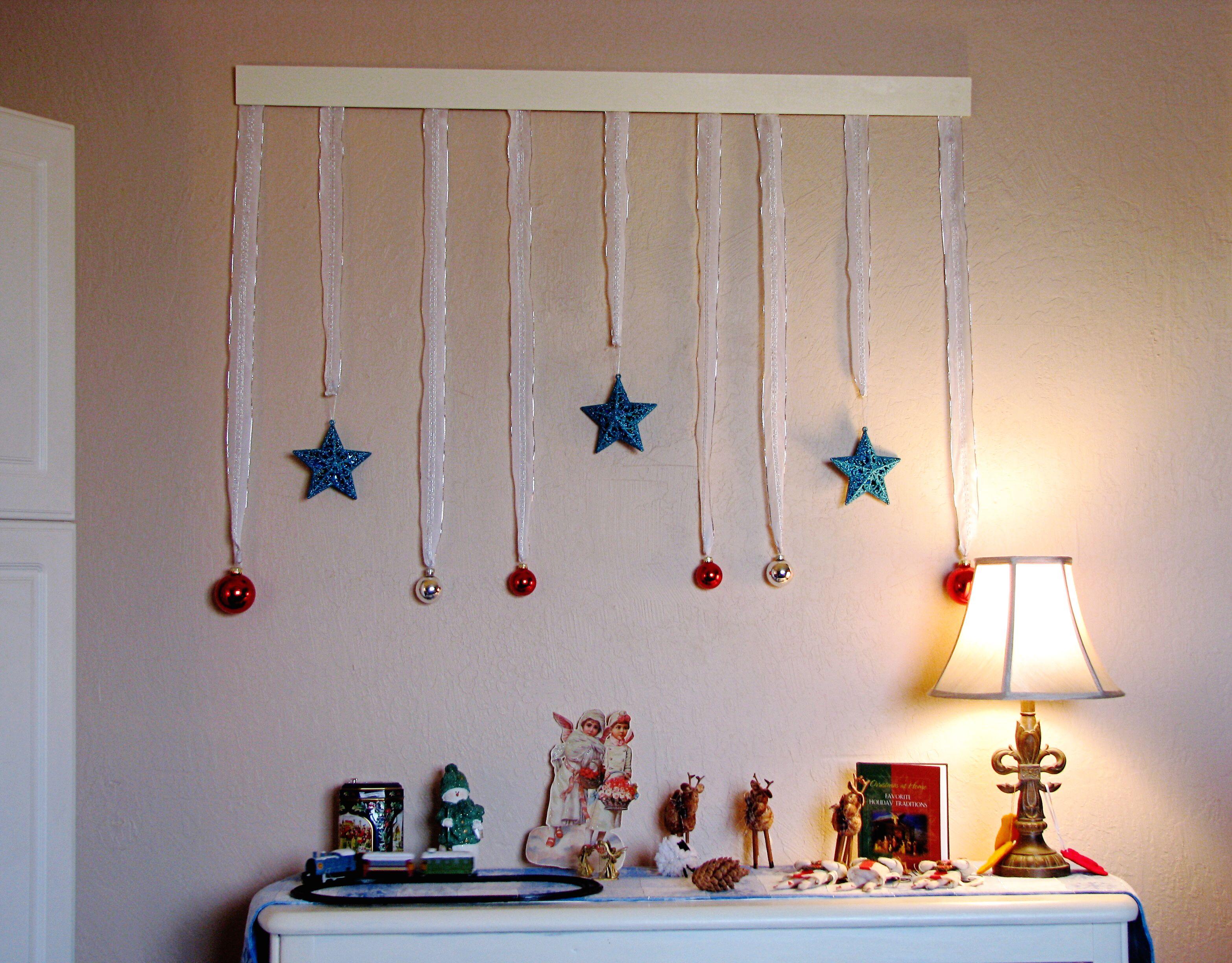 Christmas Wall Decoration 15 Christmas Wall Decor Simple