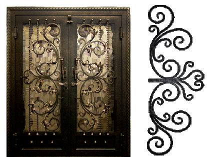 Qpsl In Trinidad Steel Doors Steel Windows Gates Ornamental Metals Hardware Ironmongery For Doors Har Door Gate Design Burglar Bars Burglar Proof