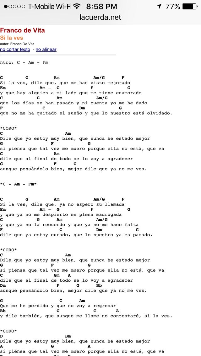 Pin De Diana Piris En Ukelele Canciones De Ukelele Acordes De Ukelele Canciones