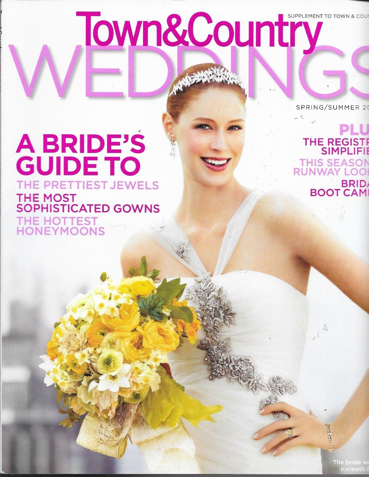 Town Country Weddings Magazine Spring Summer 2009 Bride S Guide