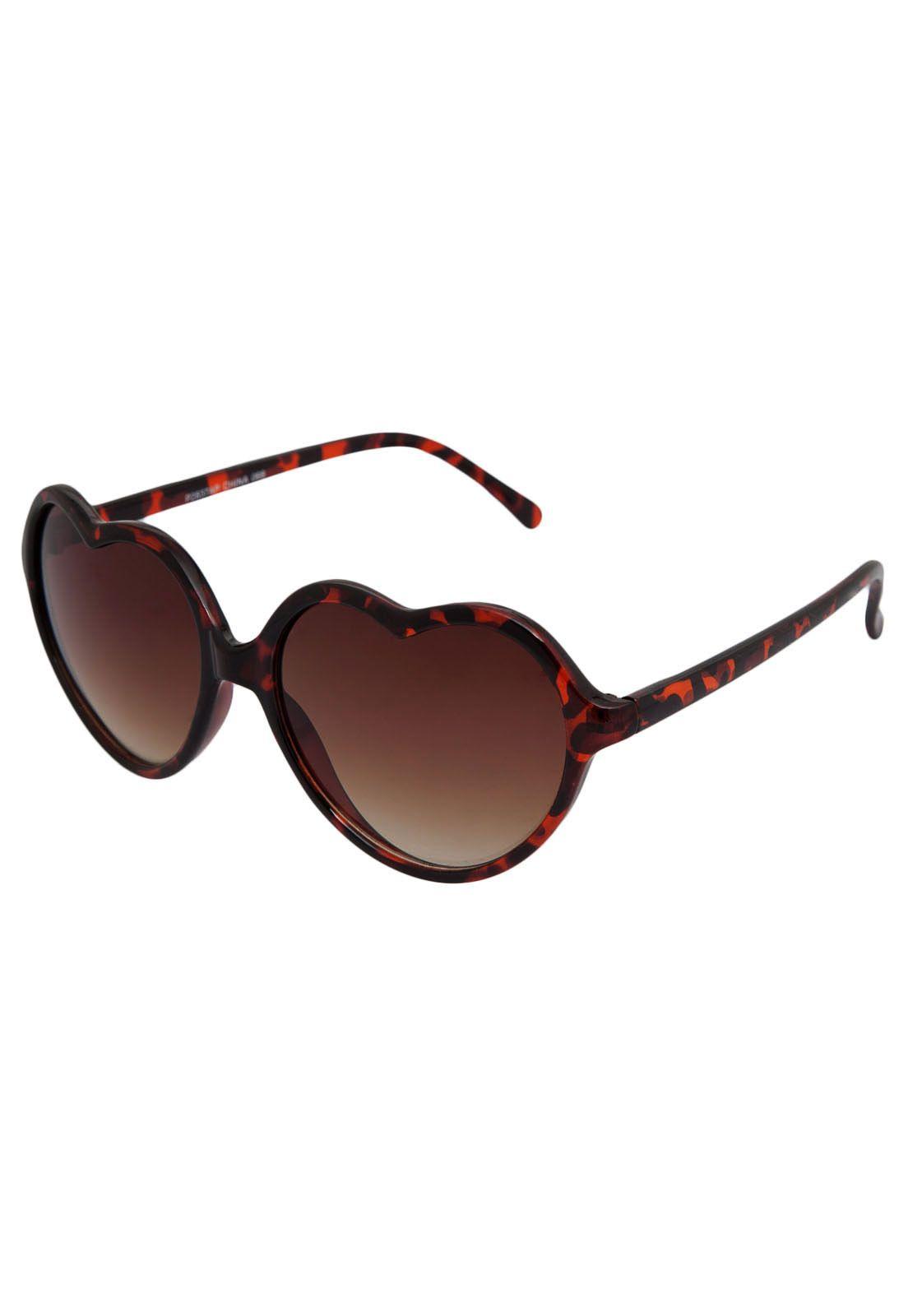 Óculos de Sol DAFITI ACCESSORIES Marrom d3c1335d5b35