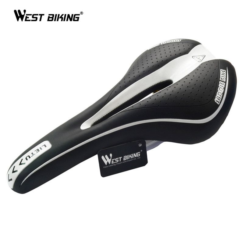 LIETU Men/'s Bicycle Saddle MTB Road Bike Cycling Silicone Skid-proof Saddle Seat