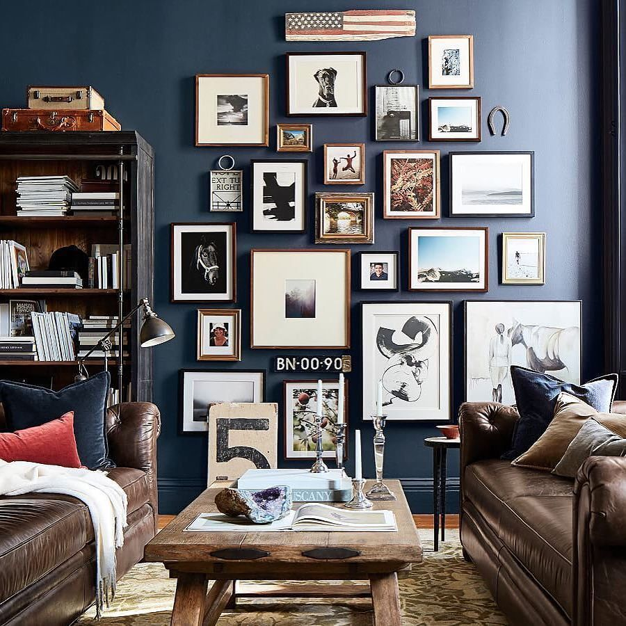 Gallery wall inspiration eclectic art collection are you looking