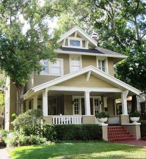 Craftsman Style 2 Story House Tampa Nice Details