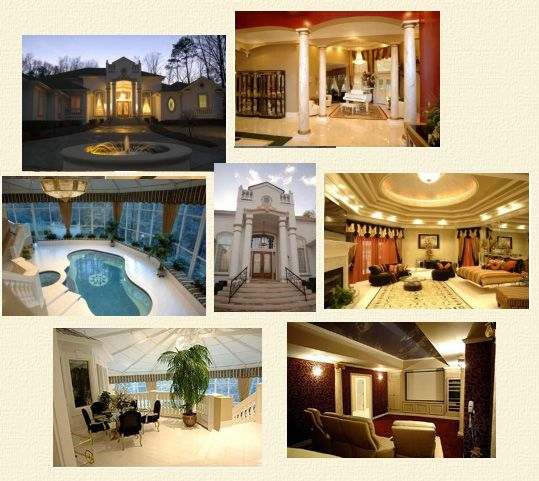 Creflo Dollar Mansion As Of January 15 2006 The