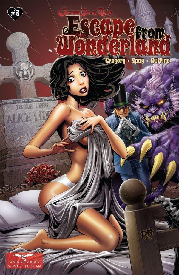 Escape From Wonderland #5 (of 6)   alice in wonderland