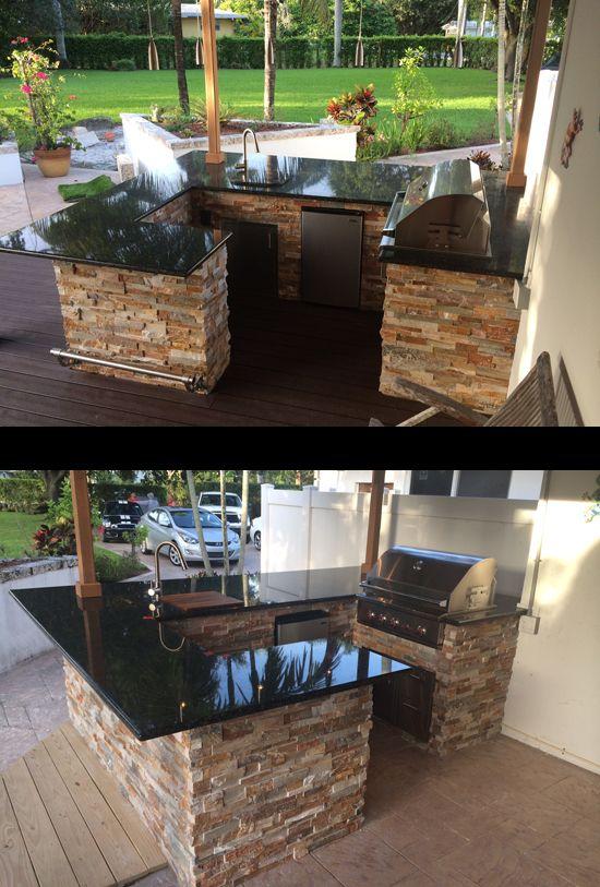 custom grill island wrap around into outdoor bar and seating outdoor kitchen on outdoor kitchen on wheels id=65469