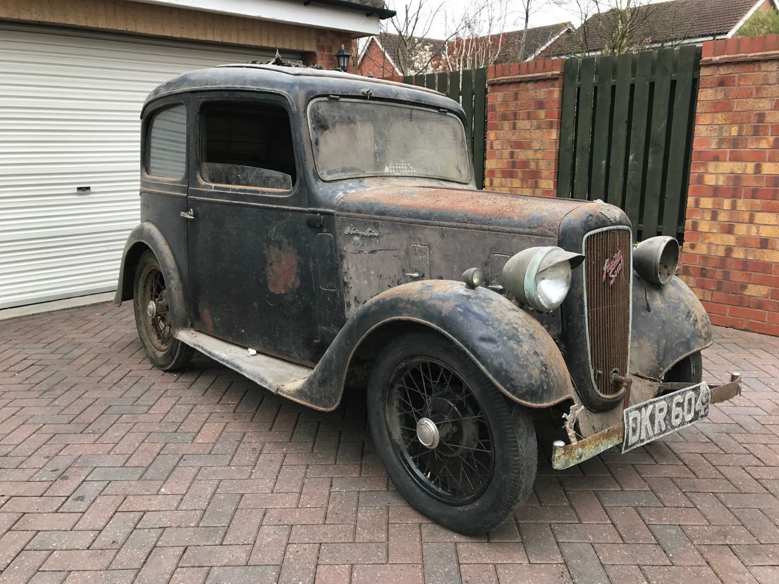 Austin Seven 7 Ruby 1937 - Beautifully preserved barn find classic ...