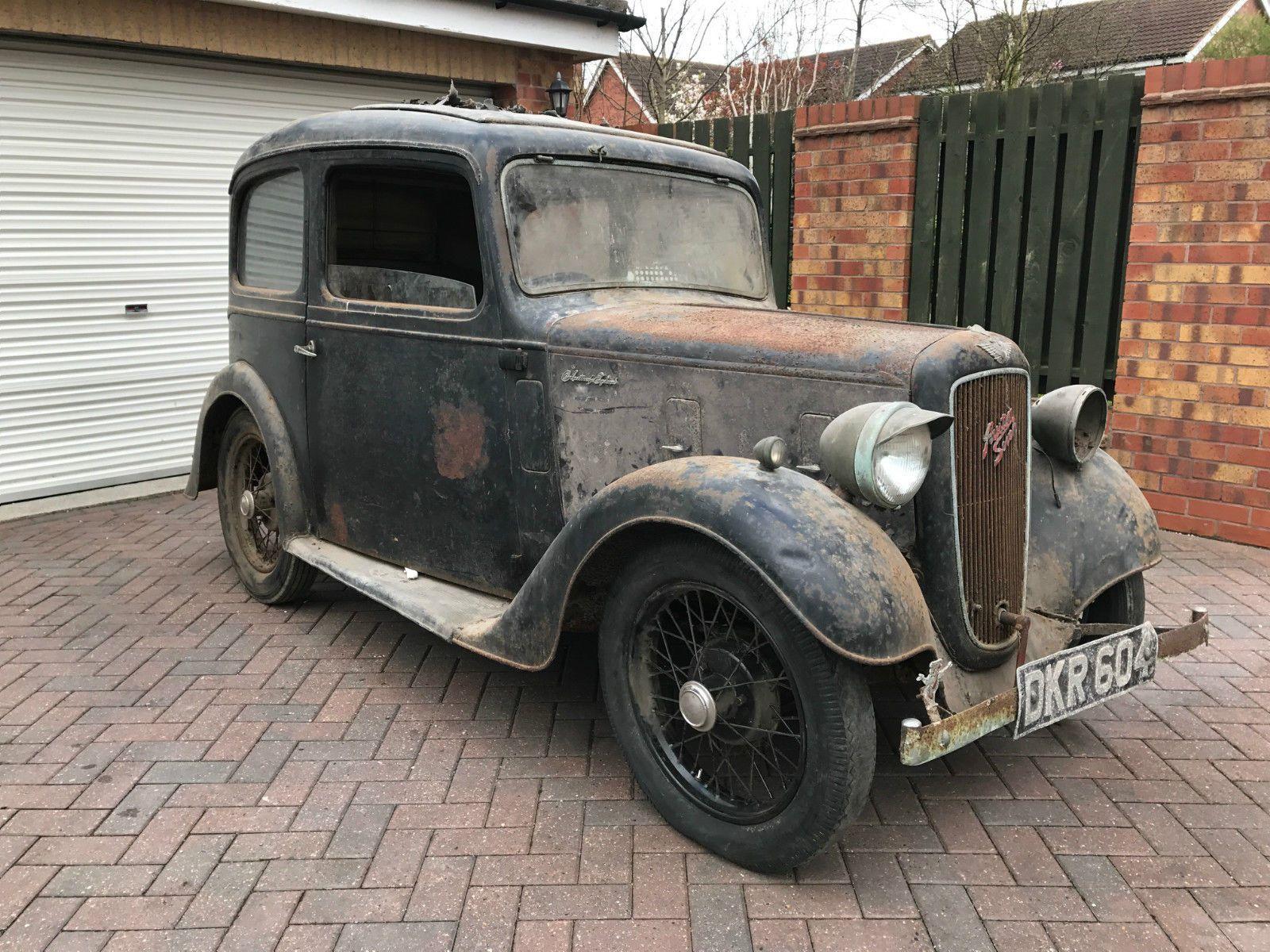 Austin Seven Ruby Beautifully Preserved Barn Find Classic - Ebay classic cars