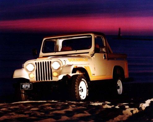 Jeep CJ-8 Scrambler