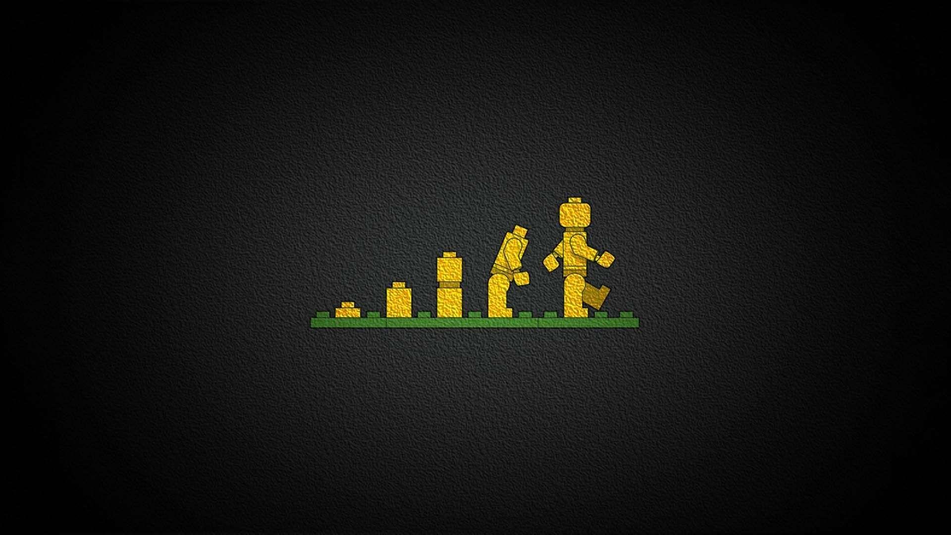 Lego Evolution HD Wallpaper
