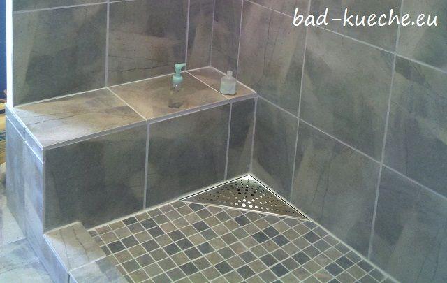 classic duschrinne dreieckig 200x200mm bodenablauf circles eckig rc15 einrichten und wohnen. Black Bedroom Furniture Sets. Home Design Ideas