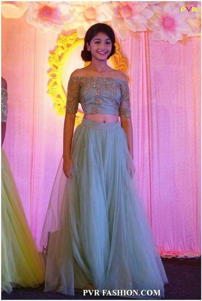 Pin de Teju Reddy en Skirt & croptop | Pinterest