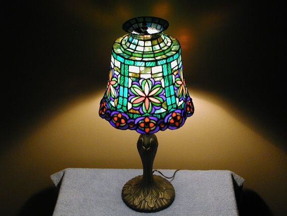 Stained Glass Lamp - Tiffany Style