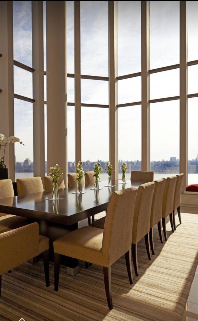 Comedor elegante decoracion comedores comedor for Mesa de comedor elegante lamentable