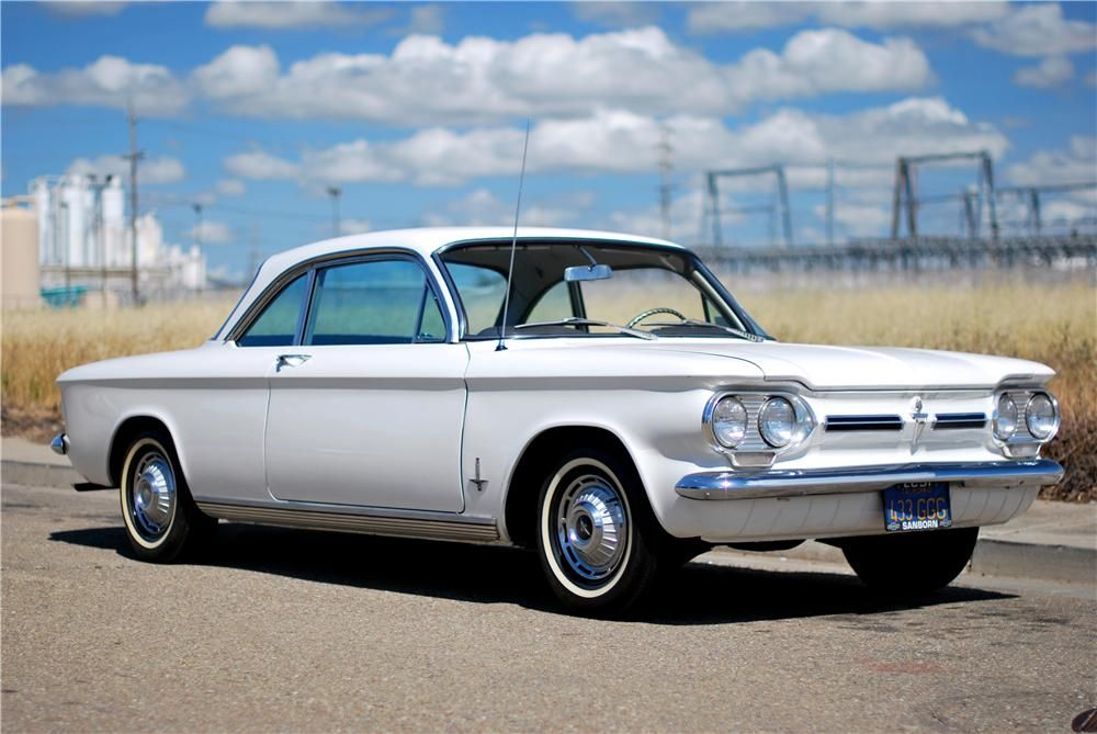 1962 Chevrolet Corvair 2 Door Coupe Barrett Jackson Auction Company Lgmsports Com Chevrolet Corvair American Classic Cars Old American Cars
