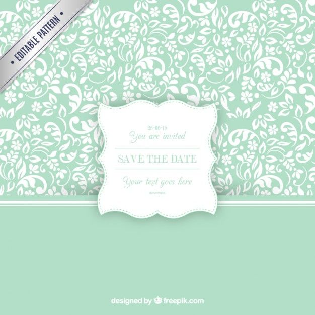 Ornamental pattern with wedding invitation label free vector ornamental pattern with wedding invitation label free vector stopboris Choice Image
