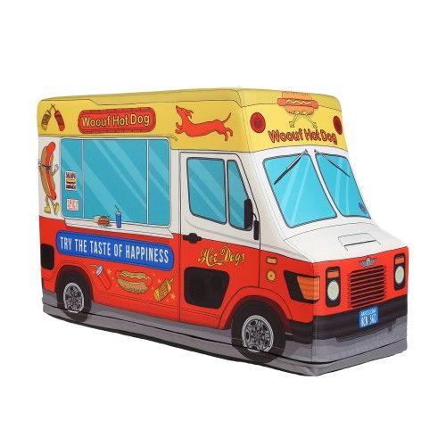 """colette WOOUF! """"Hot Dog Truck"""" Bean Bag"""