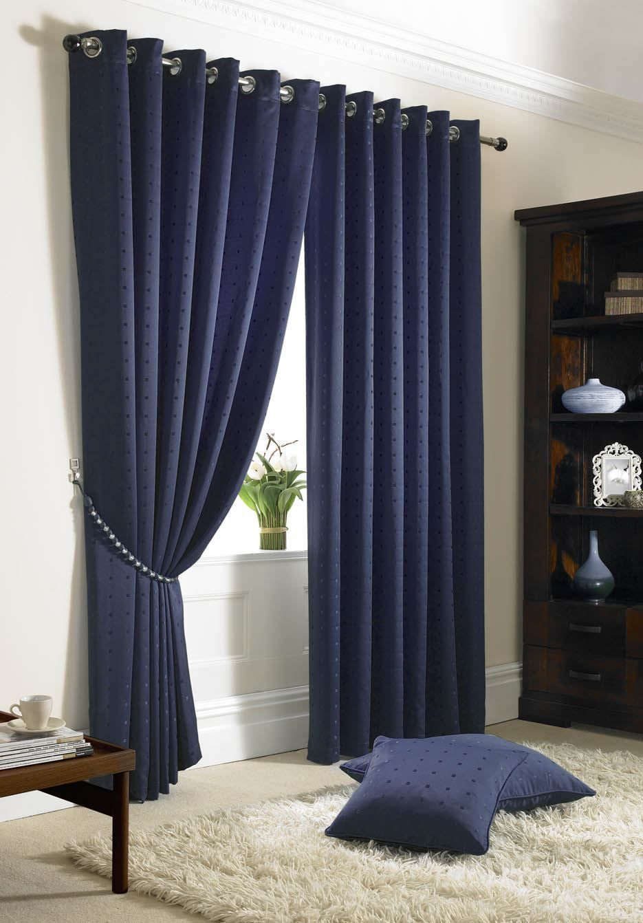 Curtain Curtains Valances Ebay Home Furniture Diy Blue Curtains Bedroom Dark Blue Curtains Blue Curtains For Bedroom