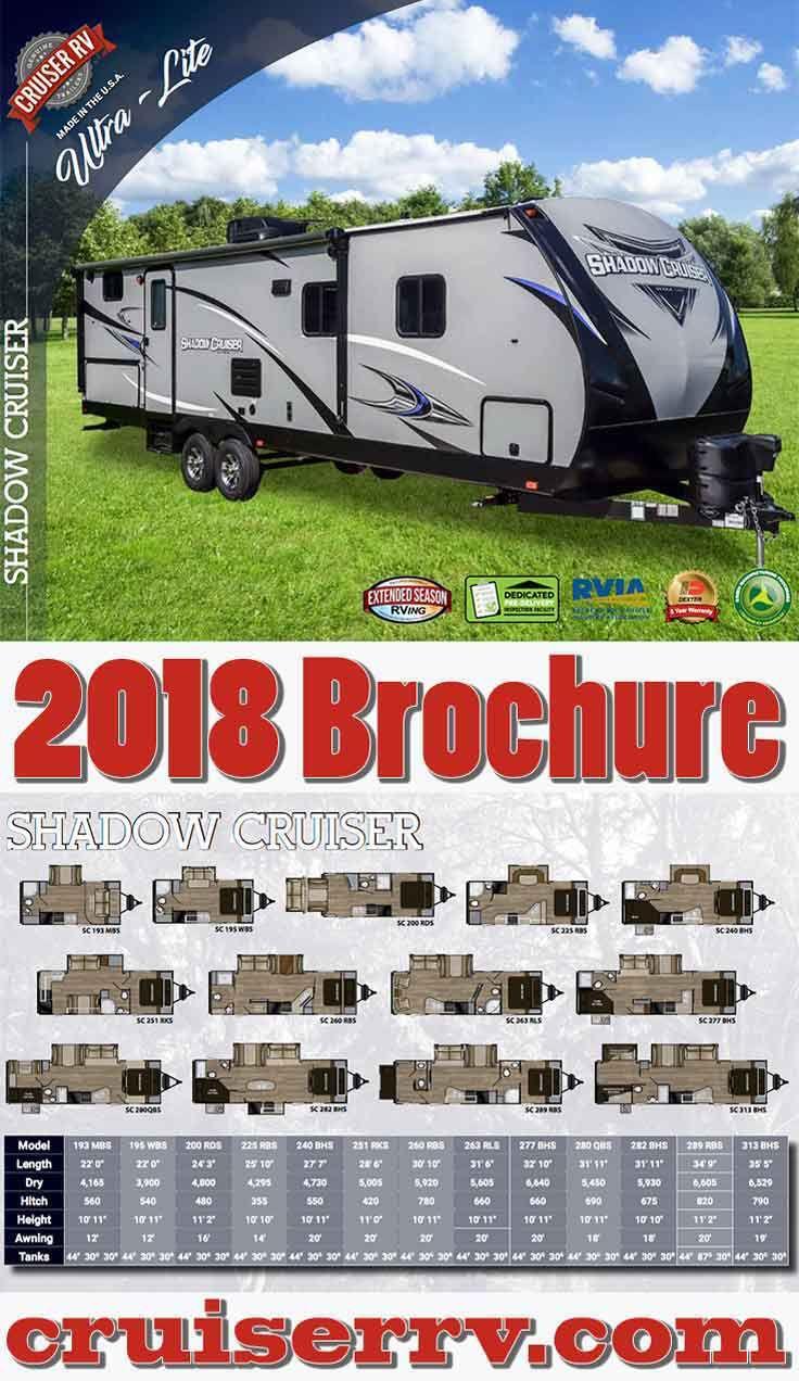 2018 Shadow Cruiser Ultra Lite Travel Trailers Brochure Cruiser