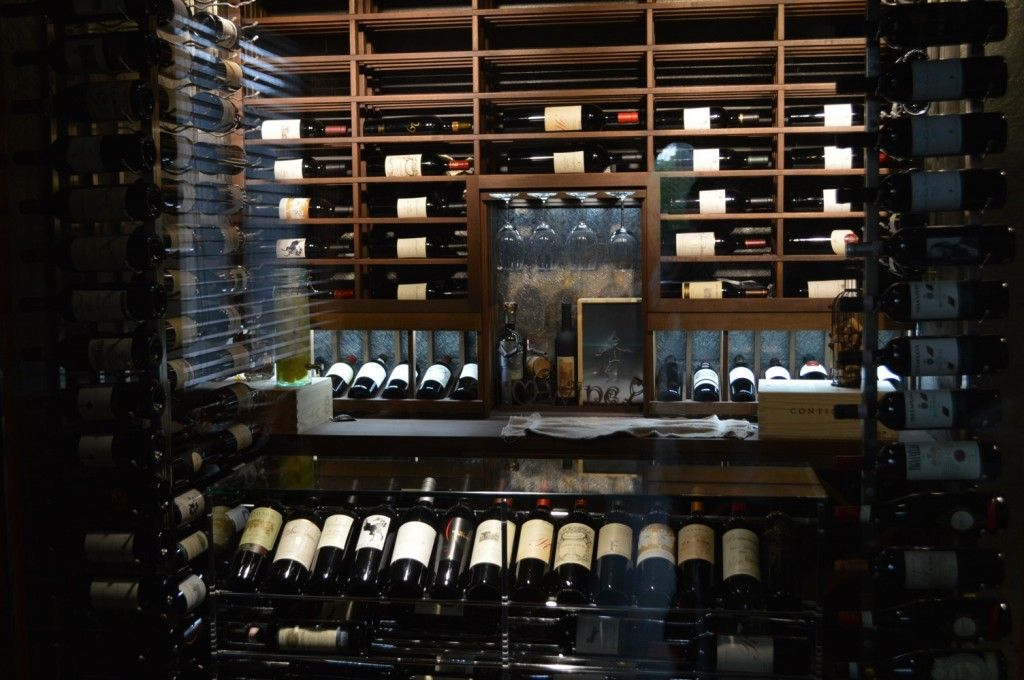 Wine Cellar Designs Aventura North Miami   Top Horizontal Storage Allow  Wine To Be Stored Three