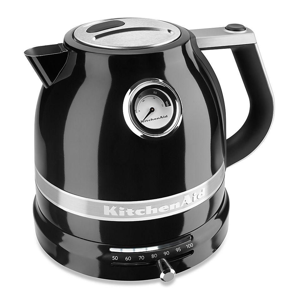 Kitchenaid Pro Line 1 5 Liter Electric Kettle In Black Kettle