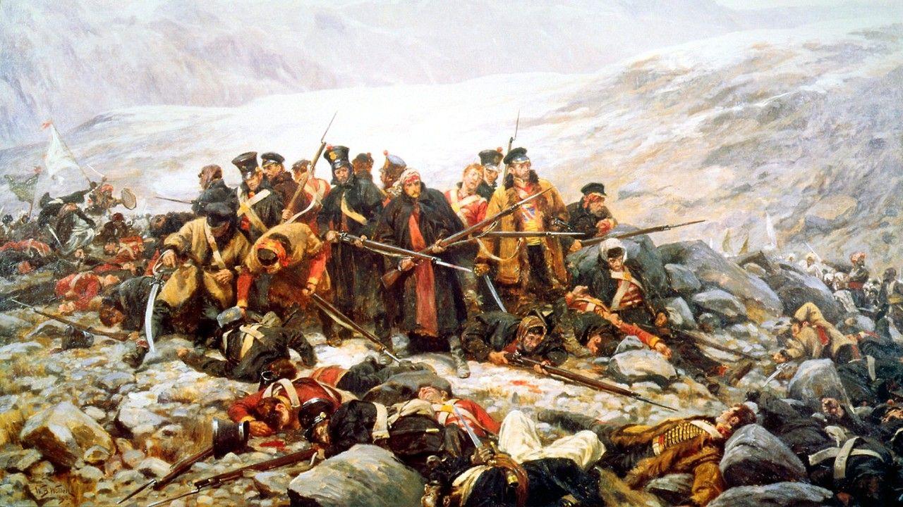 Death of the 44th Regiment at Gandamak,Afghanistan 1842