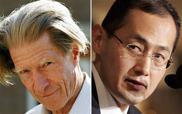 Britain's Sir John Gurdon and Shinya Yamanaka of Japan have won the 2012 Nobel Prize for medicine, marking the start of a week of announcements and speculation over who wil collect the peace prize.