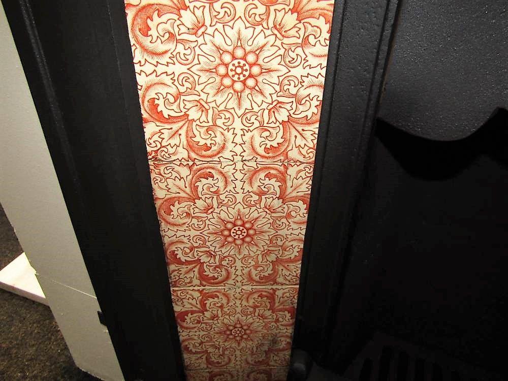 Antique Tile Regal Victorian Fireplace Set Antique Tiles Victorian Fireplace Fireplace Set