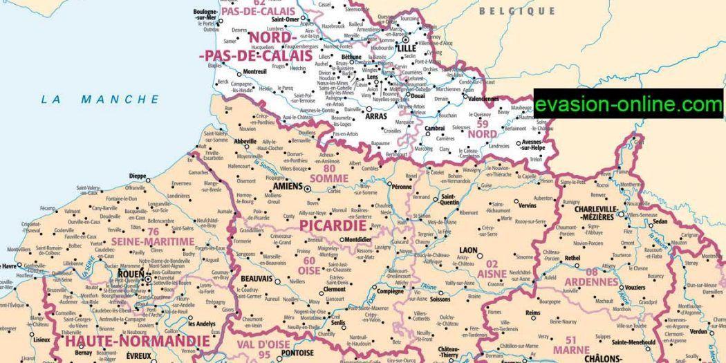carte de france nord Carte de France Nord (met afbeeldingen)