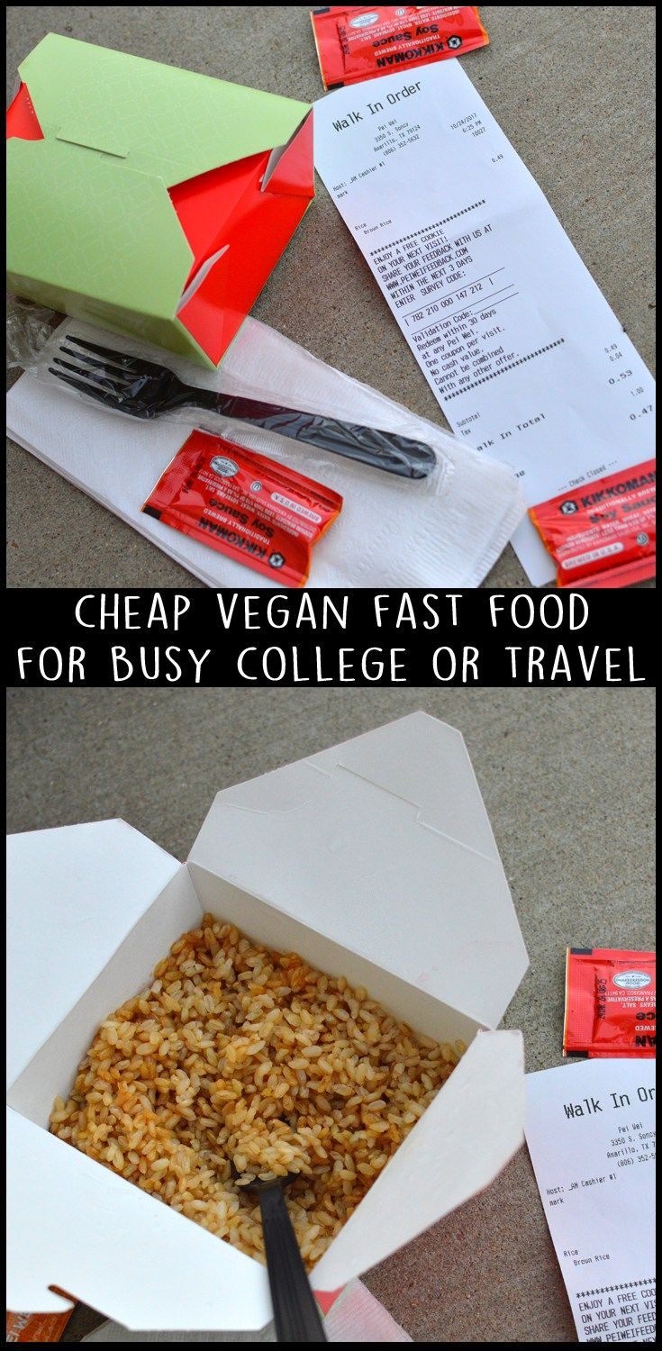 10 Cheap Vegan Food Hacks For College Or Travel Budget