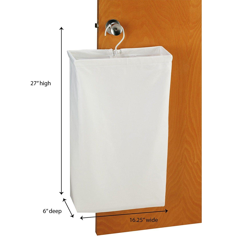 Amazon Com Household Essentials 148 Hanging Cotton Canvas Laundry