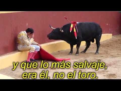 Di No a las corridas de toros! - Moving video that shows one former bullfighter that now protests  the sport