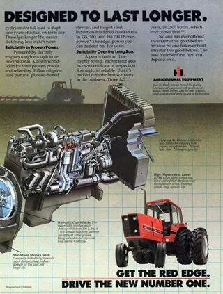 IH 88 Series Ad | International Harvestor | International tractors