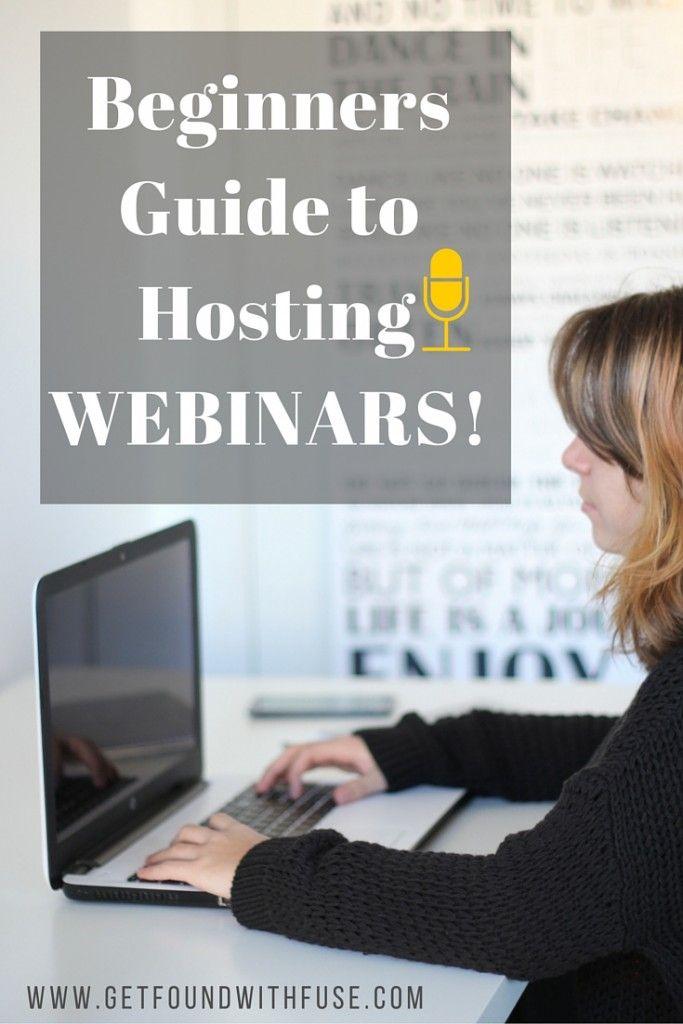 Beginners Guide To Hosting Successful Webinars Tools Tips Webinar Webinar Marketing Blog Post Topics